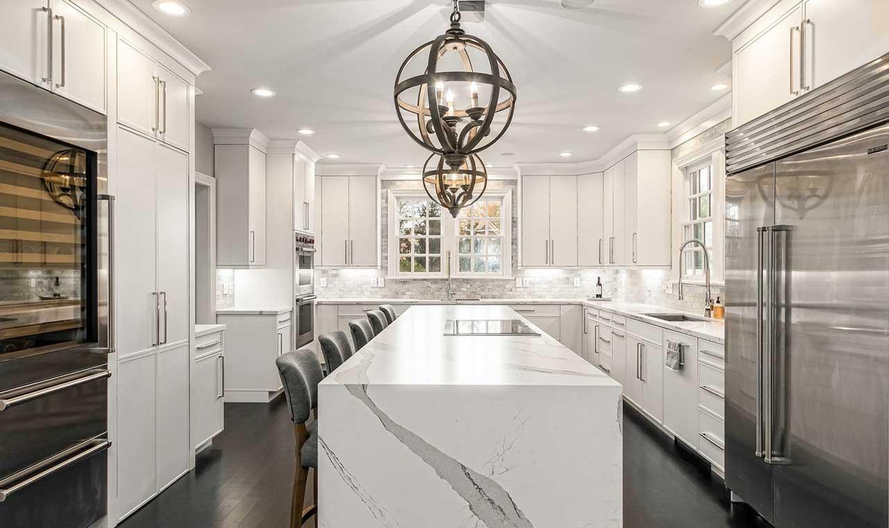 kitchen remodel full view